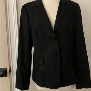 J Crew Black  Italian Wool Jacket